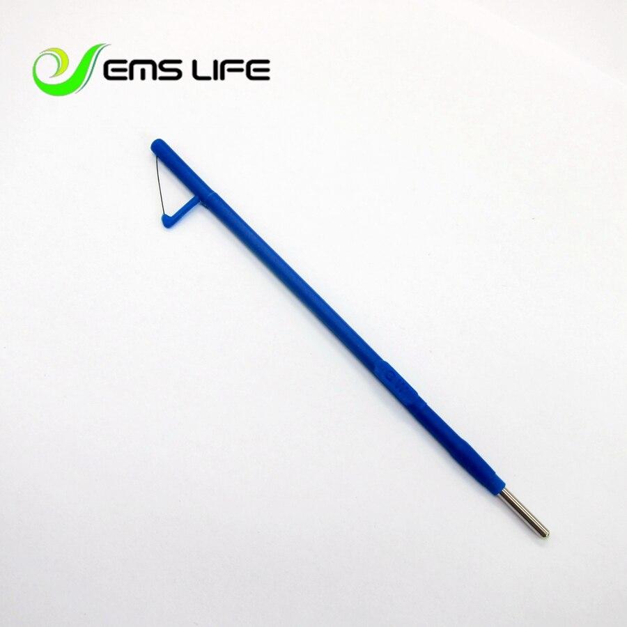 قلم رصاص كهربائي للجراحة 2018 ، قطب 15*10*130 مللي متر لقلم رصاص ESU ، قطب مثلث