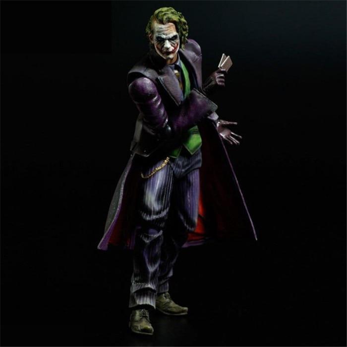 [Funny] оригинальная коробка 21 см. Игровые искусства KAI Batman The Dark Knight The Joker ПВХ экшн-фигурка Коллекционная модель игрушки подарок