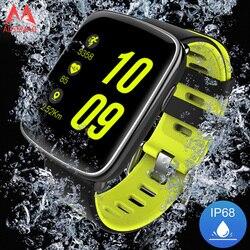 Gv68 pulseira inteligente à prova dip68 água ip68 monitor de freqüência cardíaca relógio bluetooth natação com correias substituíveis para ios android telefone