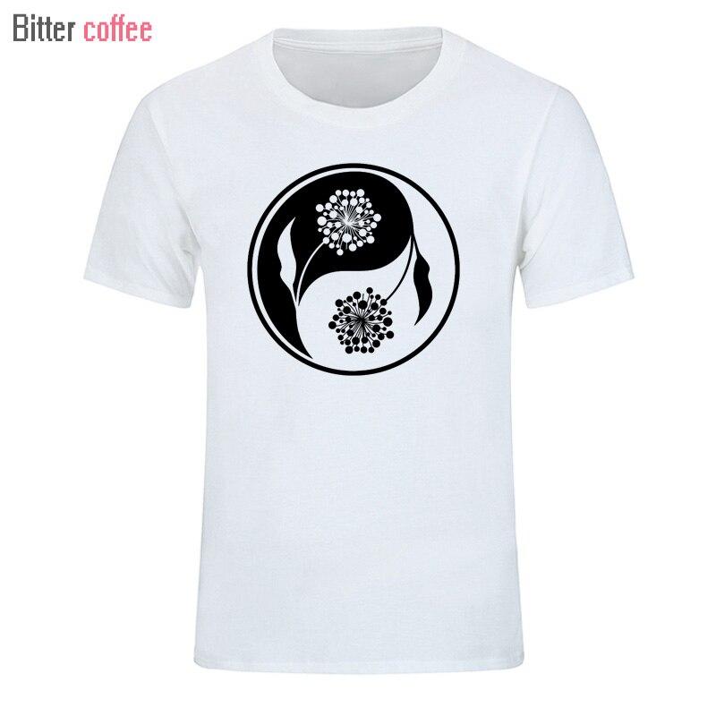 Café amargo divertido y nuevo Gran Mandala camiseta Rusia pantalón corto casual manga impresa camiseta hombres algodón Top Tees verano marca de moda