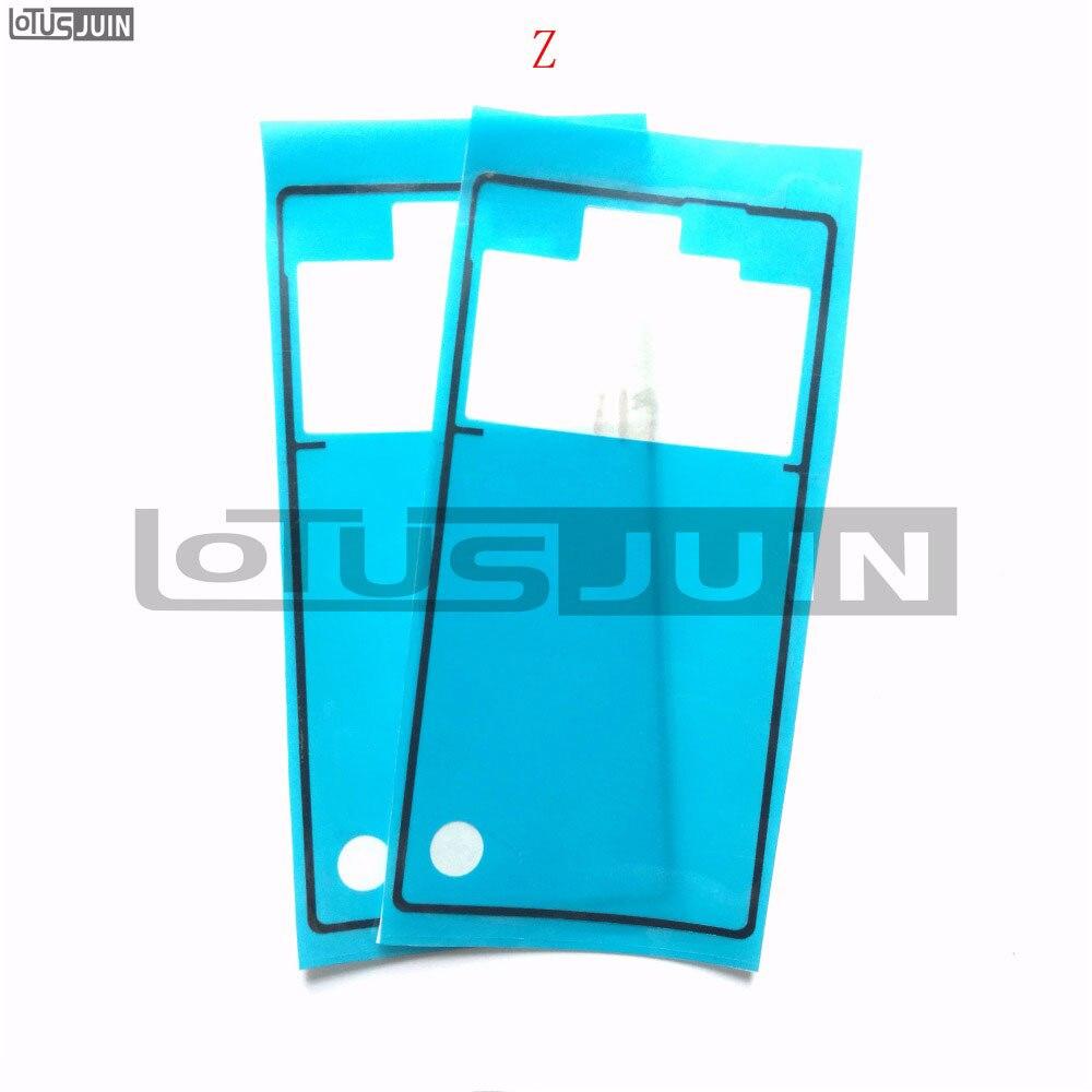 10 шт. оригинальная Задняя крышка батареи клейкая наклейка клейкая лента для Sony Xperia Z L36H L36 LT36 C6602 C6603