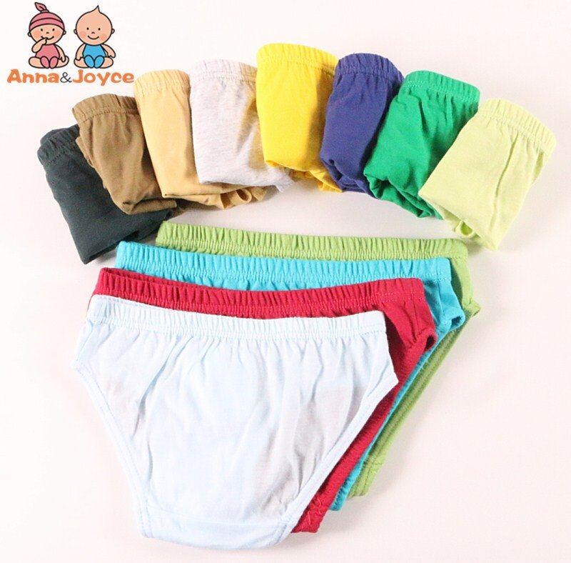 6pc meninos roupa interior do bebê calcinha de algodão infantil crianças cuecas meninos calcinha para crianças 2-10years