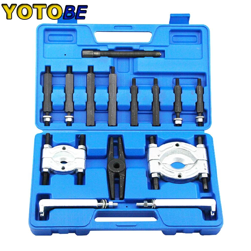 laidong km385bt the main bearing caps set part number km485qb 01112 l375 01110 01111 2 SIZE Bearing Separator And Puller Set Bearing Removal Tool Set