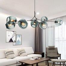 Lámpara de estilo nórdico de frijoles mágicos, personalidad creativa, lámparas de habitación simple postmoderna, restaurante, lyingLED