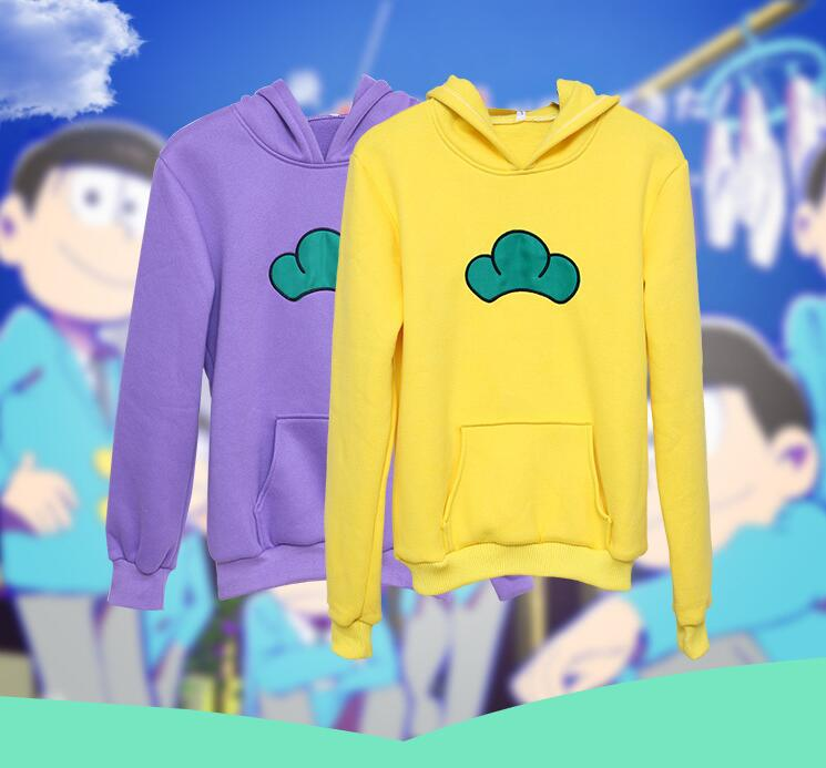 Толстовка с капюшоном Osomatsu San, костюмы для косплея на Хэллоуин, футболки Karamatsu, аниме Харадзюку, куртки Matsuno Ichimatsu Osomatsu-san