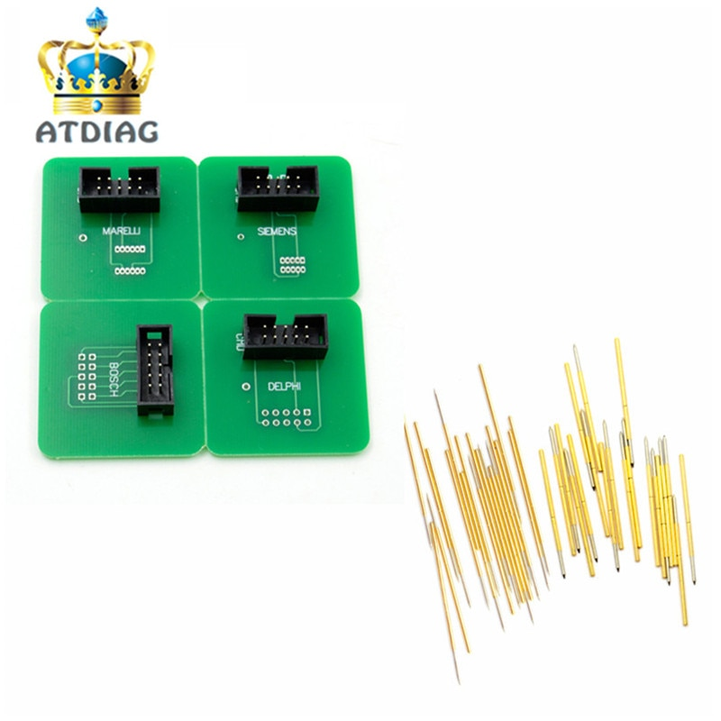 2018 Newest BDM frame pin 40pcs needles, BDM FRAME Adapter+40pcs BDM Pin Work for BDM Frame Ktag K-tag Kess v2 ,BDM100 FGtech