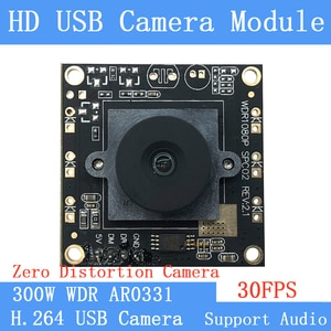Full HD 1080P Wide-angle CCTV Surveillance H.264 WDR 3MP AR0331 Webcam UVC Android linux Plug Play MJPEG 30FPS USB Camera Module