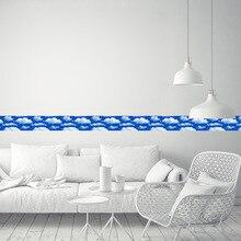Baiyun-autocollants porte verre   Étiquette de taille pour plinthes, chambre à coucher, salon, couloir, porte vitrée