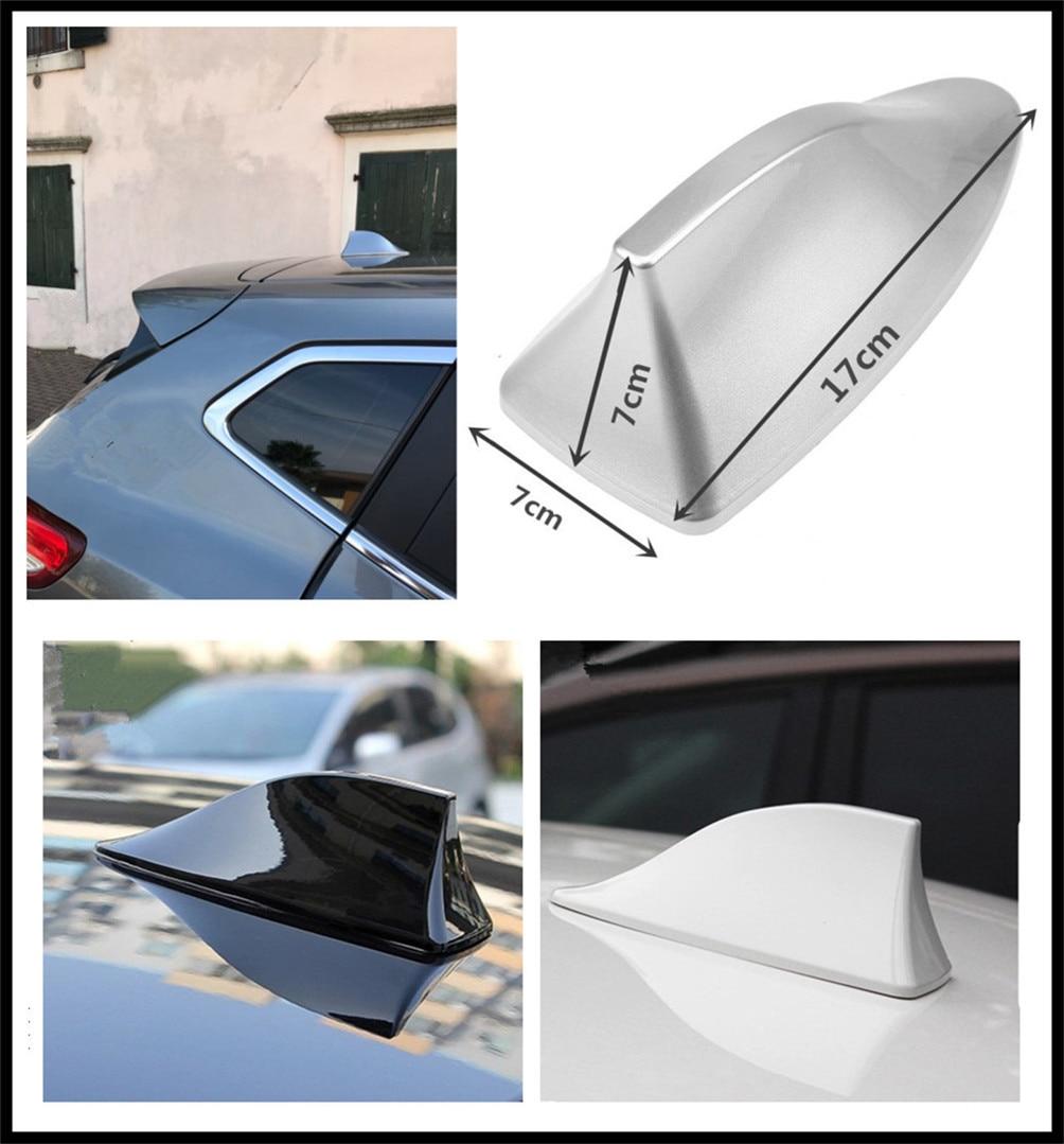 Diseño de coche trasero para techo aleta shark antena señal radio conversión para Mercedes Benz ML500 ML350 GL450 B200 B150 CLK63 R F700