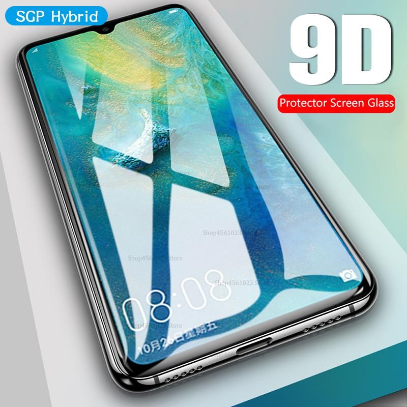 9D curvo de cristal templado para Huawei Mate 20 Pro Lite X 20X Mate 10 Pro Lite P Smart 2019 Plus de la cubierta completa pantalla Protector de la película