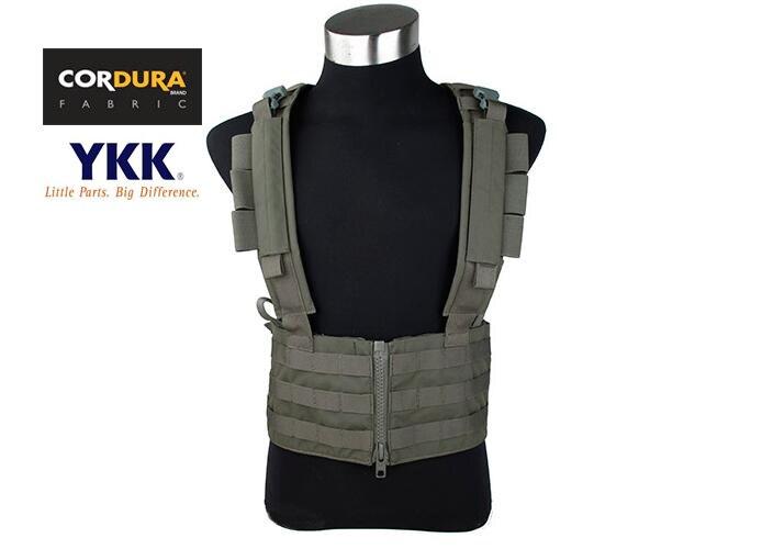 TMC Cordura Tactical Sniper Chest Rack Ranger Green Coyote Brown Molle Combat Gear(STG051136)