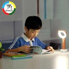 Coversage Led Night Light Table Desk Lamp Children Kids Baby Sleeping Book Bedroom Novel Reading Lighting USB Rechargeable Lamp