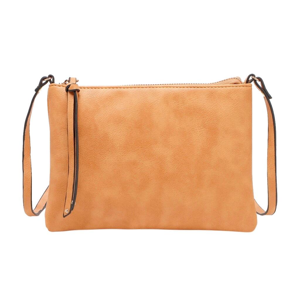 Sleeper #501 2019 Womens Leather Purse Satchel Cross Body Zipper Shoulder Bag Messenger Bags FASHION DESIGN hot Free Shipping