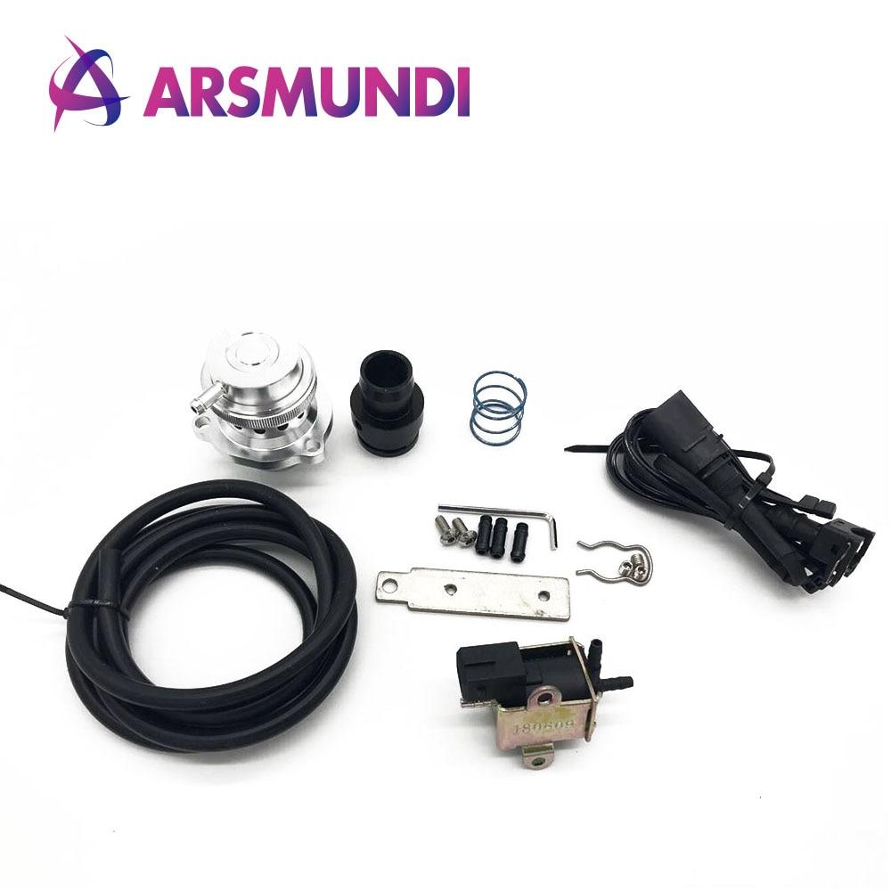 Válvula de descarga, Kit de válvula de soplado, válvula de recirculación para VW Audi SEAT SKODA 2,0 T 1,8 FSI TSI TFSI