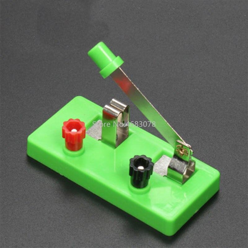Equipo experimental físico y eléctrico de un solo polo, de un solo tiro, interruptor