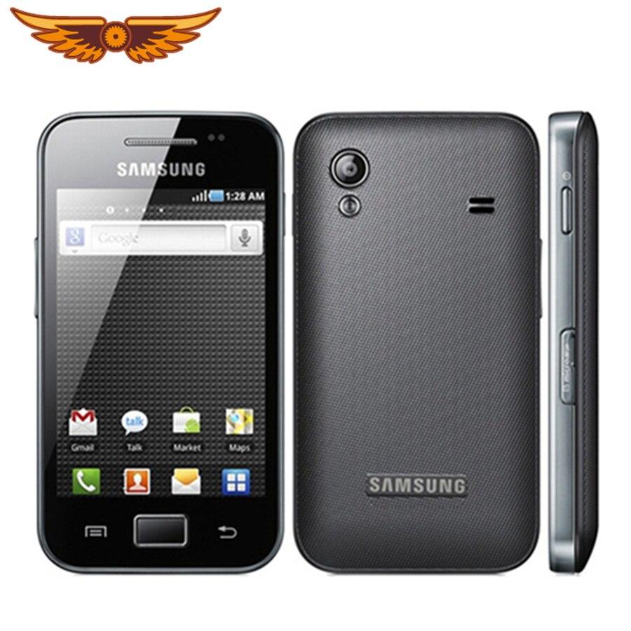 S5830i Original desbloqueado Samsung Ace S5830 GPS 5MP Cámara Bluetooth WIFI 3G reacondicionado teléfono móvil envío gratis