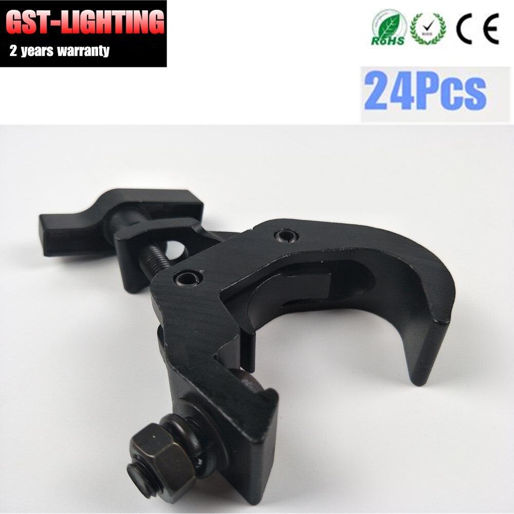 24pcs/lot DJ Stage Light 200kg 40-70mm Hook Clamp Holder LED Stage Effect Truss