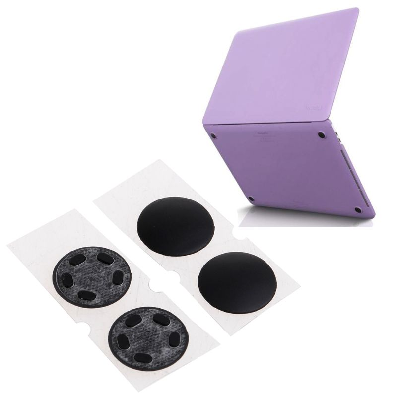"4 pçs portátil pés de borracha inferior pés caso capa pé kit para macbook pro retina 13 ""15"" a1706 a1707 a1708"