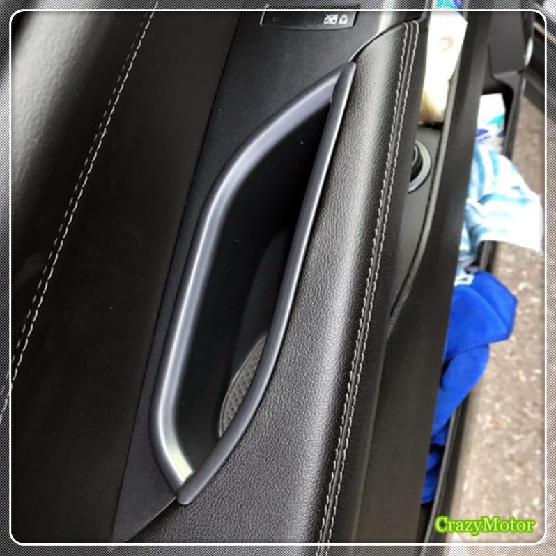 Manija de la puerta del coche caja del apoyabrazos del guante trasero delantero caja de almacenamiento contenedor para el estilo del coche de Cadillac SRX 2010-2015