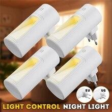 Capteur veilleuse 2 LED PIR mouvement salle de bains lampe éclairage ampoule prise aux états-unis/royaume-uni/ue