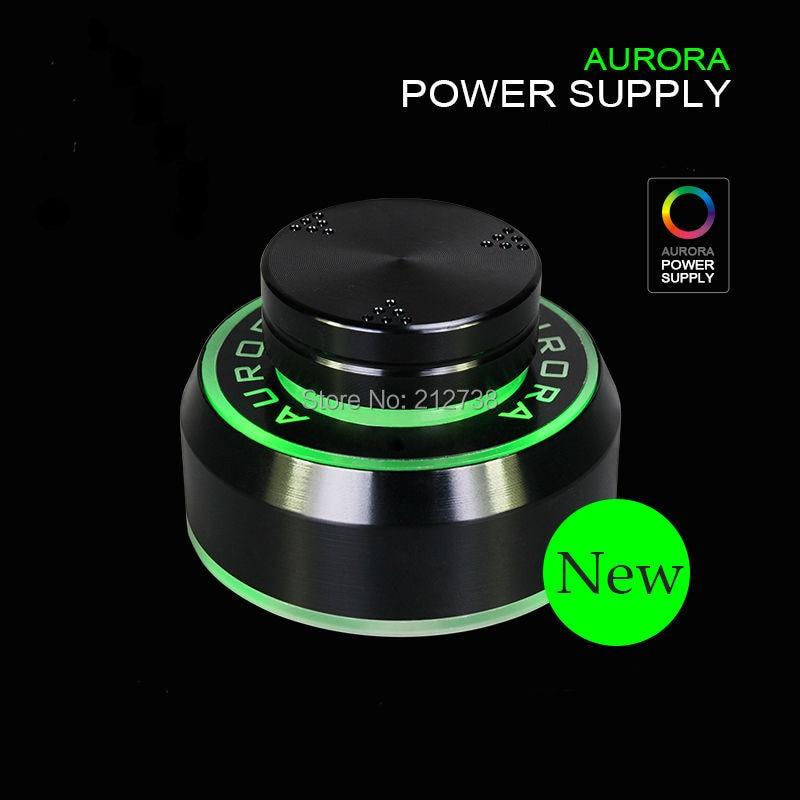 1Pc Black New  Aurora Tattoo Power Supply for Tattoo Machine 2 Foot Pedal Mode Free Shipping-B5