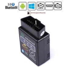 HH OBD ELM327 Bluetooth OBD2 CAN BUS OBDII Check Engine Voiture Scanner Diagnostique Automatique Outil Adaptateur Dinterface Pour Android PC