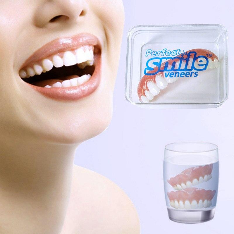 חדש מושלם חיוך חזיתות במלאי תיקון שיניים שווא שנן רע שיניים חזיתות שיניים הלבנת