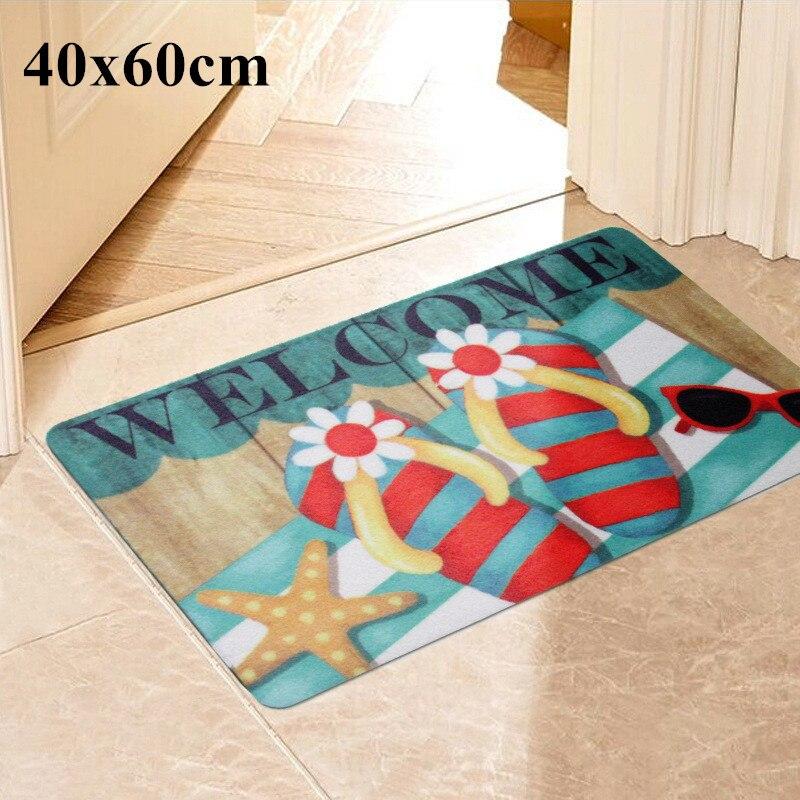 Envío Gratis, pantuflas de Color de 40x60 cm, alfombra rectangular, alfombra de baño, Tapetes antideslizantes Para baño, Tapete Para Baño