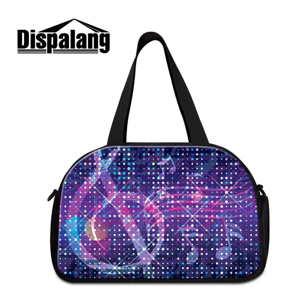 Bolso de viaje para mujer Dispalang, gran capacidad, ligero, promocional, regalo, bandolera mensajero, grandes bolsas portátiles para llevar