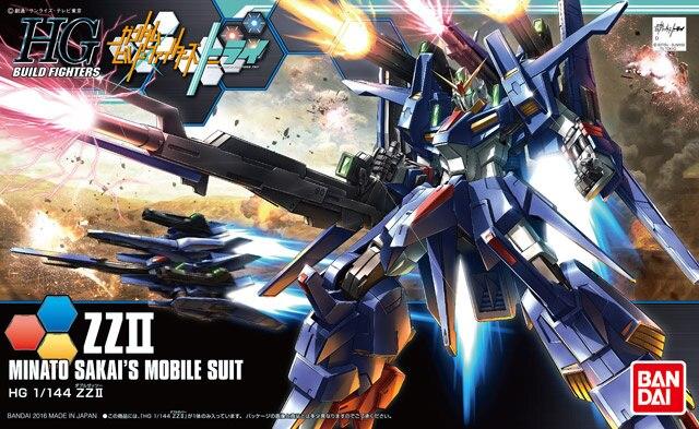 Original Gundam HG 1/144 modelo GUMDAM Z II MINATO SAKAIS Mobile Suit THE ORIGIN GTO Kids Toys