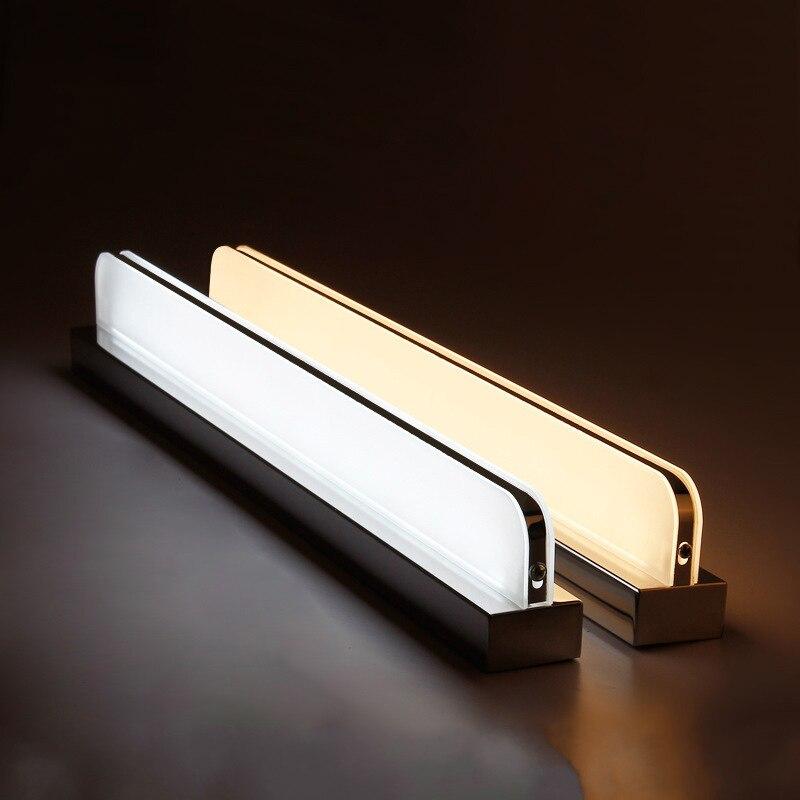 Modern makeup lamp wall lamp loft style led indoor bathroom LED mirror headlights AC85-265V lamps free shipping