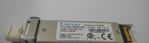 Original FTLX3811M356-HW 10g 80km xfp
