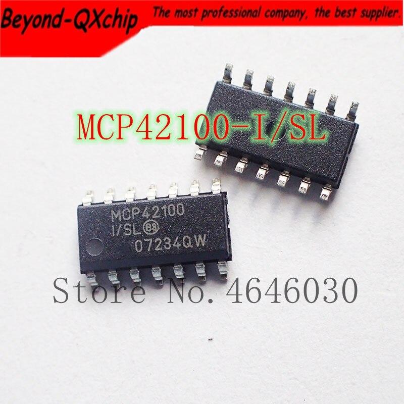 Envío Gratis 50 unids/lote MCP42100 MCP42100-I/SL SOP14 mejor calidad