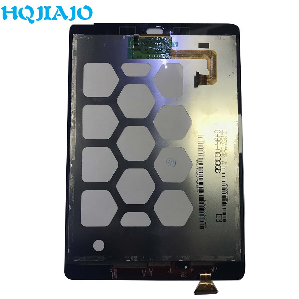 Tablet LCDs Para Samsung Galaxy Tab 9.7 T550 T555 LCD Display Touch Screen Quadro Digitador Para Tab Samsung UM 9.7 T550 T555