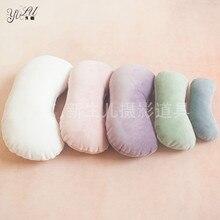 High Quality Newborn Photography Prop Posing Beans Bag ,5 set Baby Bone/Crescent Pillow Newborn Infant Positioner