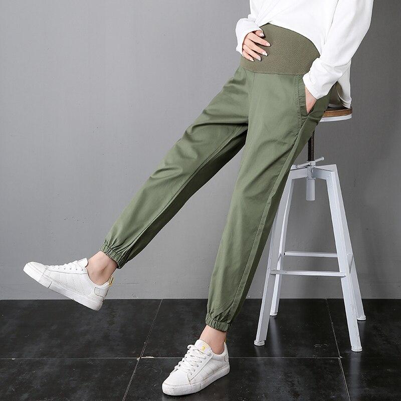 Yuanjiaxin mujeres Embarazada Casual elástico de cintura alta pantalones de maternidad casa polainas de china fábrica oem Pantalones