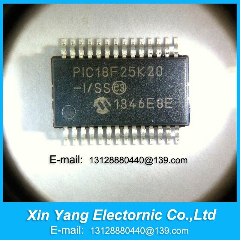 PIC18F25K20-I/SS PIC18F25K20 18F25K20-I/SS SSOP MCU 8-bit PIC18 PIC RISC 32KB Flash