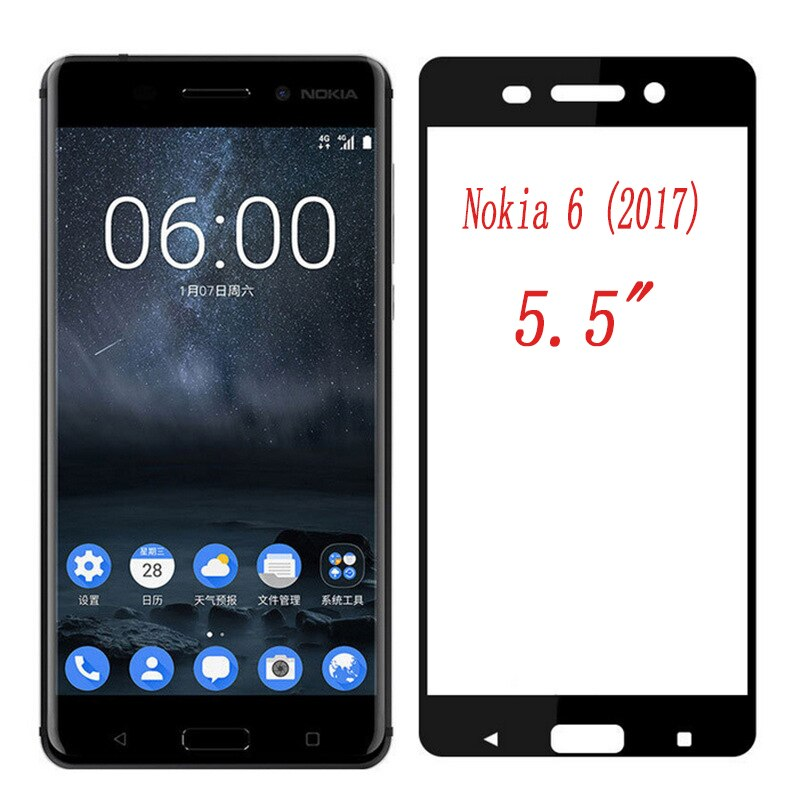 for-nokia-6-2017-tempered-glass-full-cover-tempered-glass-for-nokia6-2017-version-screen-protector-protective-glass