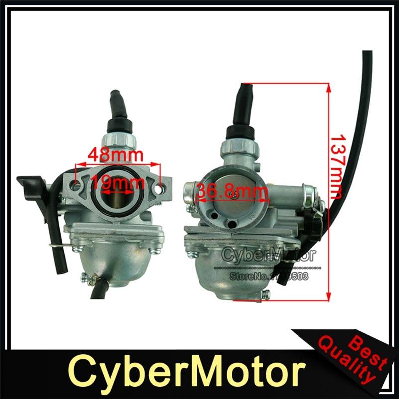 Карбюратор Mikuni VM16, 19 мм, для 50cc 70cc 90cc 110cc, китайский питбайк, квадроцикл, картинг