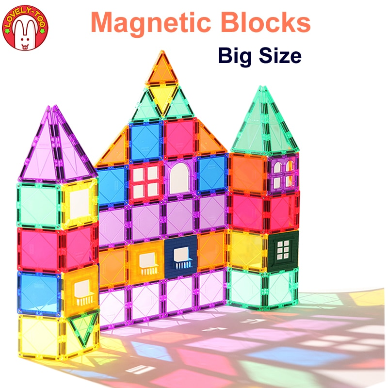 Magnetic Building Blocks Tiles Constructor Games Magnet Toy Model Educational Toys For Children LovelyToo magnetic blocks constructor toys for kids mini building magnet games children s designer educational toy for boys girls gift