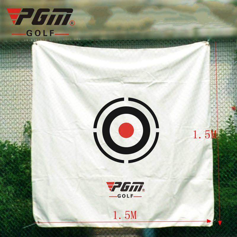 ¡Caliente! alta calidad PGM 1,5*1,5 m Golf red golpeando pateando Swing simulador practica la ayuda de entrenamiento de conducción de objetivo envío gratis