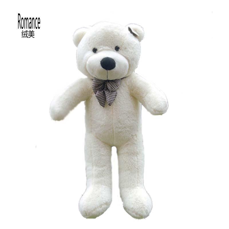 Giant Large Big White/Light Brown/Dark Brown/Pink Plush Teddy Bear 100CM Teddy Bear Plush Toy Finished stuffed Doll New