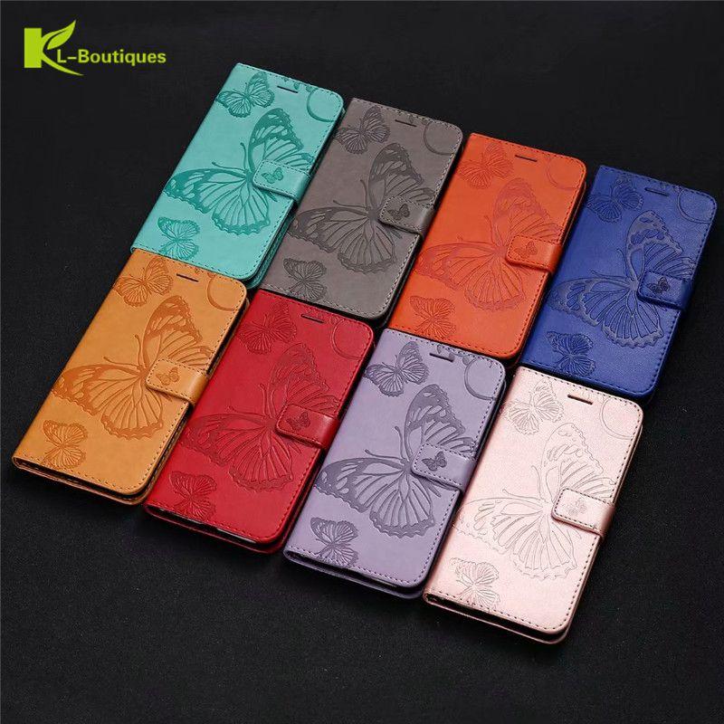 Redmi 5 Plus Case on for Xiaomi Redmi 5 Plus Case Flip Leather 3D Butterfly Phone Case For Xiaomi Redmi5 Plus Case Cover Coque