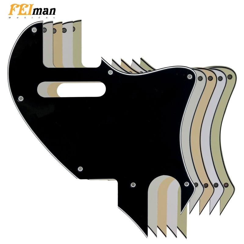 Pleroo-piezas de Guitarra para guardabarros, golpeador para Guitarra híbrida con agujero F,...