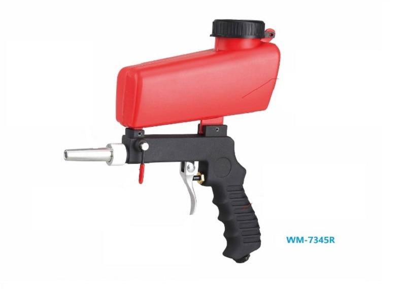 Nuevo purificador de aire de arena neumática 1 Uds herramientas de pistola de chorro de arena 21lbs herramientas de aire