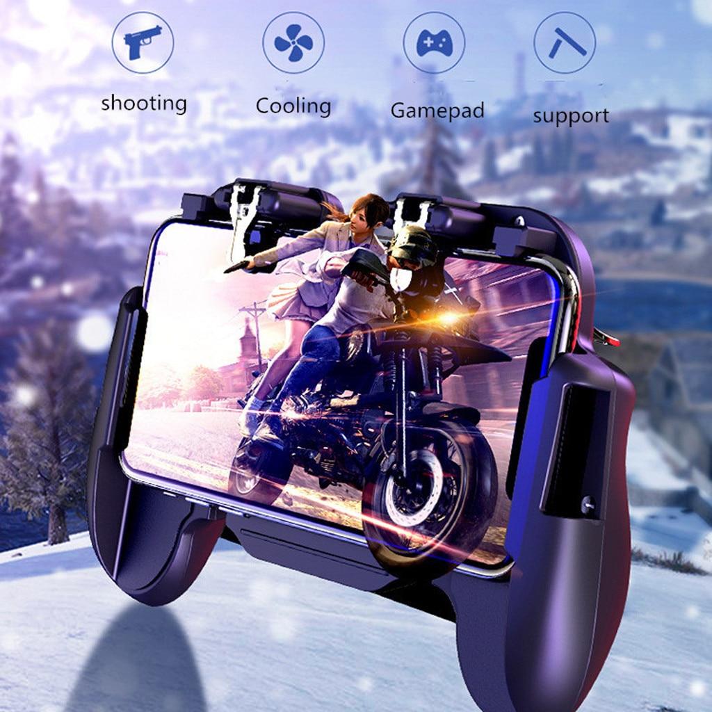 Controlador de juegos móvil sensible Shoot And Aim Joysticks Gamepad mango ForPUBG 2019 última venta nueva moda c0612