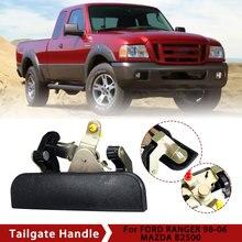 مقبض الباب الخلفي الخلفي الخلفي للسيارة Ford Ranger For Mazda B2500 For pick 1999 2000 2001 2002 2003 2004 2005 2006 2007