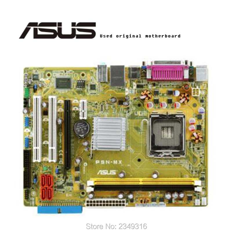 Для ASUS P5N-MX используется оригинальная материнская плата LGA775 DDR2 настольная материнская плата