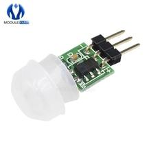Mini IR Pyroelectric Infrared PIR Motion Human Sensor Automatic Detector Module AM312 Sensor DC 2.7 to 12V Board