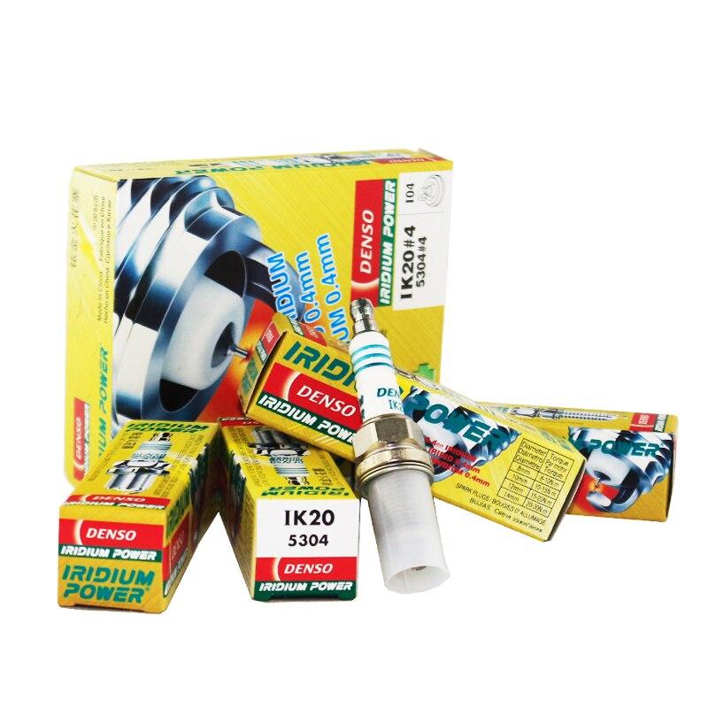 DENSO Iridium Vela de Ignição Do Carro Para MERCEDES BENZ CLK230 CLK55 E200 E220 E280 S280 S420 S600 SL500 SL600 SLK200 IK20